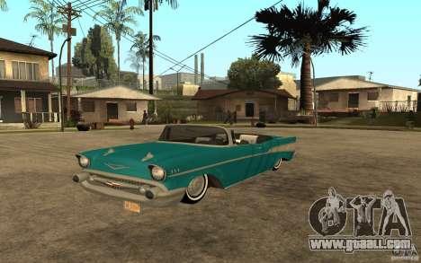 Chevrolet Bel Air 1956 Convertible for GTA San Andreas