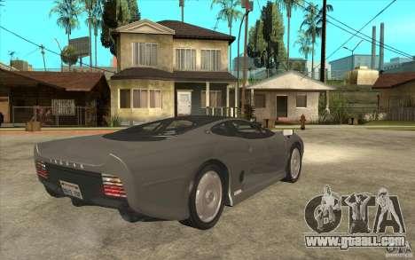 Jaguar XJ 220 for GTA San Andreas right view