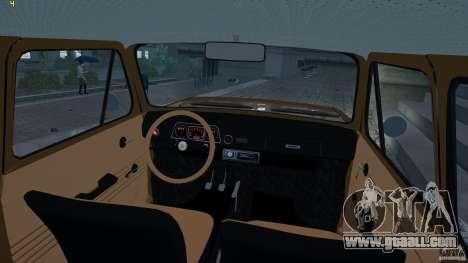 ZAZ 968 m for GTA 4 back view