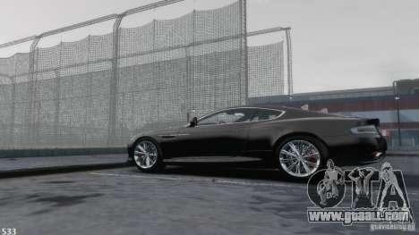 Aston Martin Virage 2012 v1.0 for GTA 4 upper view