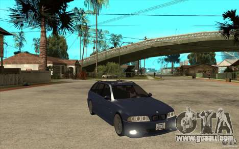 BMW M5 E39 530tdi Touring for GTA San Andreas back view