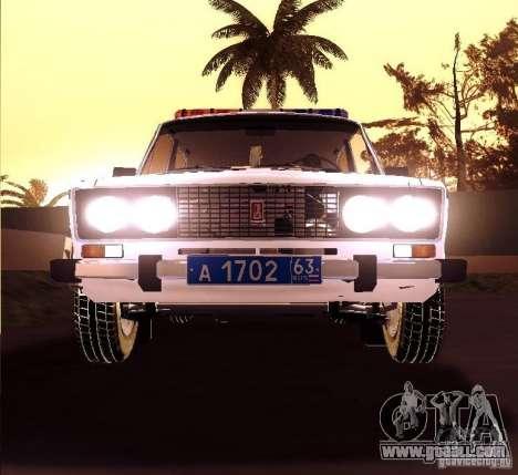 VAZ 2106 Police v 2.0 for GTA San Andreas