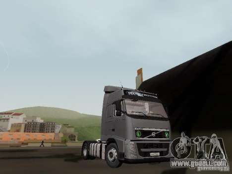 Volvo FH13 Globetrotter for GTA San Andreas back view