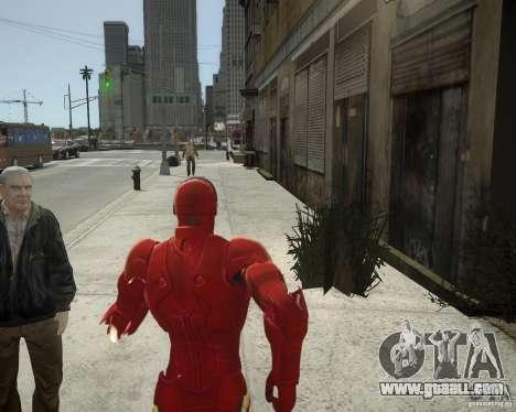 Iron Man Mk3 Suit for GTA 4 sixth screenshot