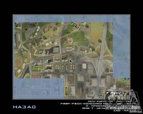 Detailed Map and Radar Mod for GTA San Andreas second screenshot