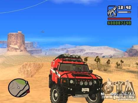 HZS Hummer H2 for GTA San Andreas