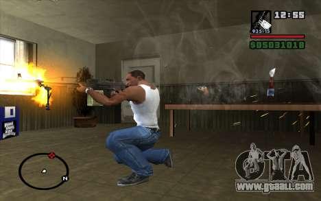 PKP Pecheneg Machine Gun for GTA San Andreas third screenshot