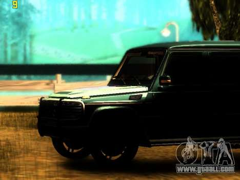 ENBSeries v3 for GTA San Andreas second screenshot
