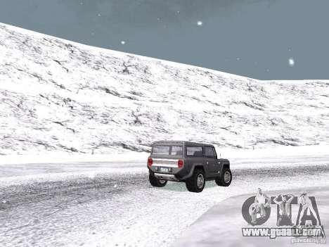 Snow for GTA San Andreas