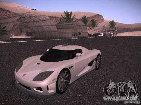 Koenigsegg CCX 2006 for GTA San Andreas