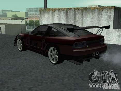 Nissan 240 SX for GTA San Andreas left view