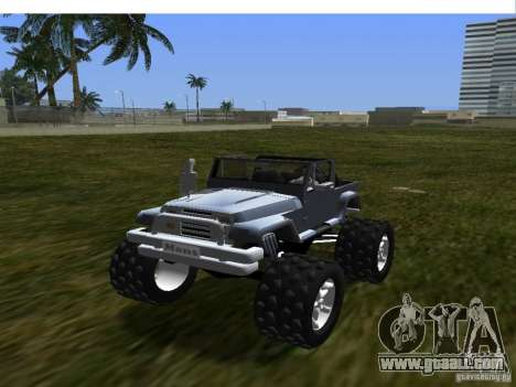 New updated Mesa for GTA Vice City