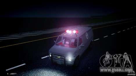 Chevrolet G20 Van V1.1 for GTA 4 side view