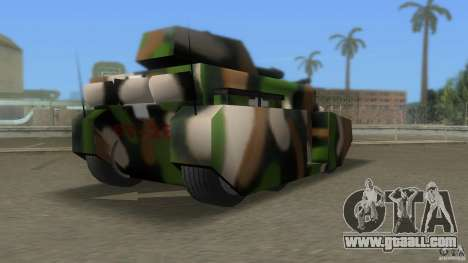 Bundeswehr-Panzer for GTA San Andreas right view