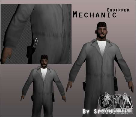 Mechanic for GTA San Andreas
