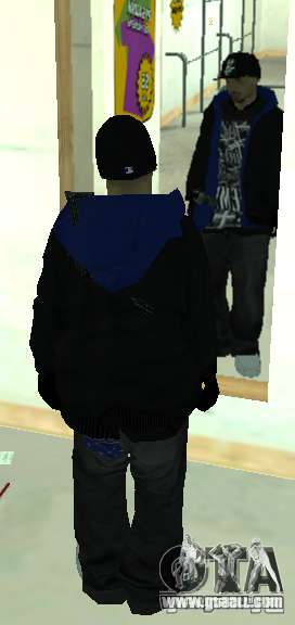 Vagos Gang Skins for GTA San Andreas seventh screenshot
