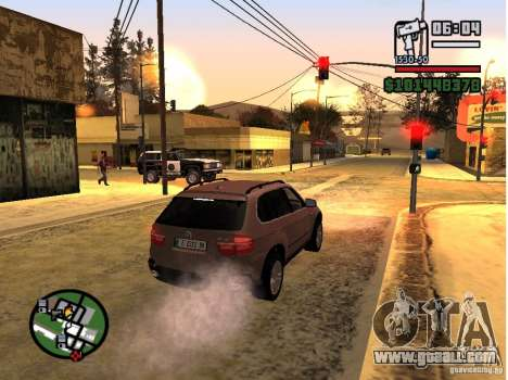 Winter Mod for GTA San Andreas forth screenshot