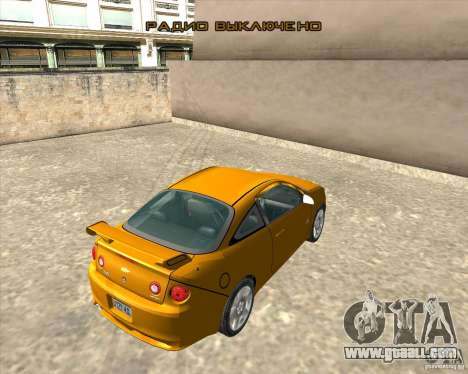Chevrolet Cobalt SS for GTA San Andreas back view