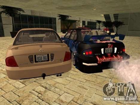 Nissan Sentra for GTA San Andreas