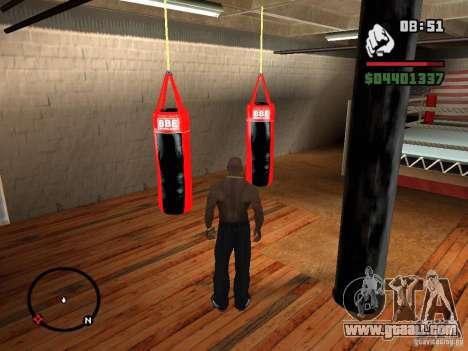 Punshbag for GTA San Andreas second screenshot
