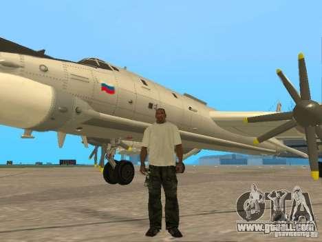 Tu-95 for GTA San Andreas
