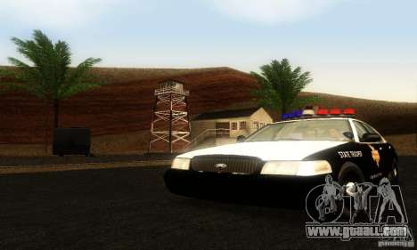 Ford Crown Victoria Texas Police for GTA San Andreas