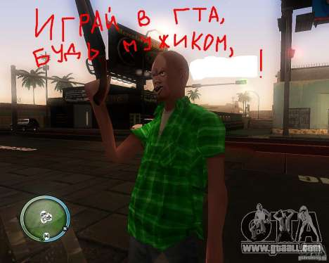 Skin Pack for SAMP-RP for GTA San Andreas second screenshot