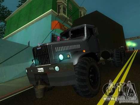 KrAZ-254 for GTA San Andreas