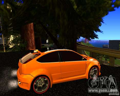 Ford Focus ST Racing Edition for GTA San Andreas left view