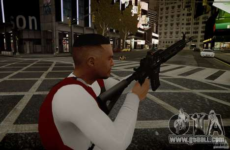 The HK416 (automatic) for GTA 4 forth screenshot