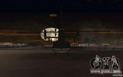 GTA IV Maverick for GTA San Andreas back view