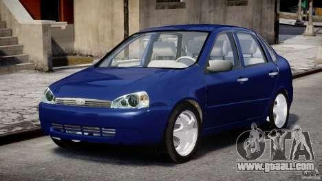 Vaz-1118 Kalina for GTA 4