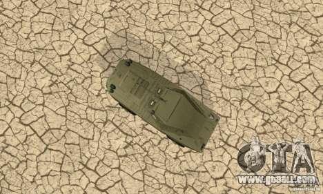 BRDM-1 Skin 1 for GTA San Andreas inner view