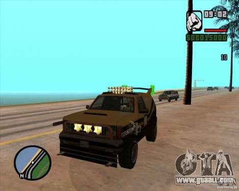 Death Car-death machine for GTA San Andreas forth screenshot