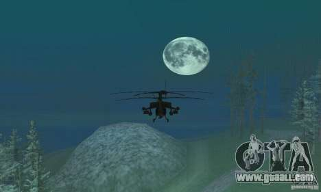 Round the Moon for GTA San Andreas second screenshot