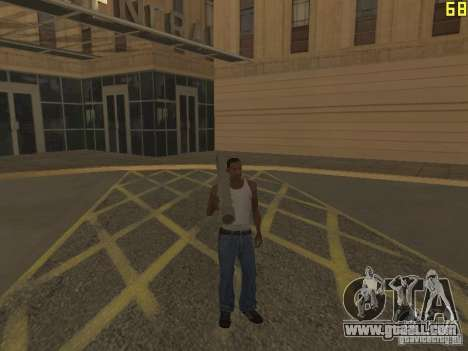 Regeneration of the arms in murder for GTA San Andreas forth screenshot