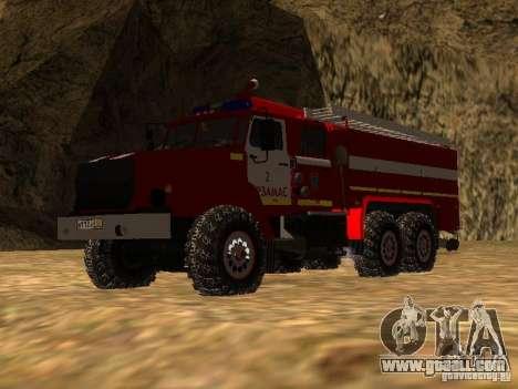 Ural 43206 AC 3.0-40 (6 x 6) for GTA San Andreas