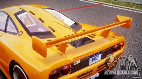 Mc Laren F1 LM v1.0 for GTA 4 bottom view