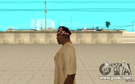 Bandana superman for GTA San Andreas second screenshot