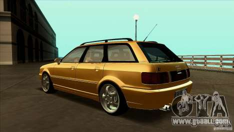Audi RS2 Avant 1995 for GTA San Andreas back left view