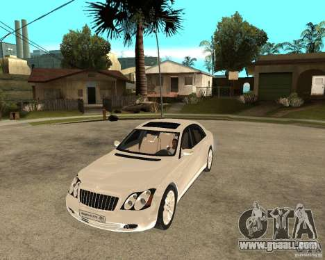 Maybach 57 S for GTA San Andreas