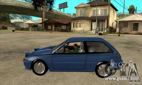 Volvo 480 Turbo for GTA San Andreas left view