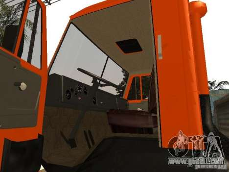 KAMAZ 5320 for GTA San Andreas right view