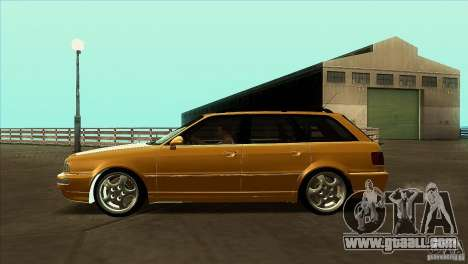 Audi RS2 Avant 1995 for GTA San Andreas left view