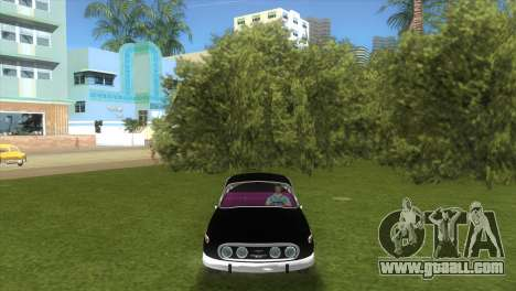 Tatra T2-603 1967 for GTA Vice City back left view