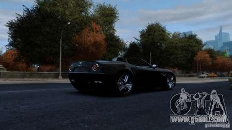 Alfa Romeo 8C Competizione Spider v1.0 for GTA 4 back view