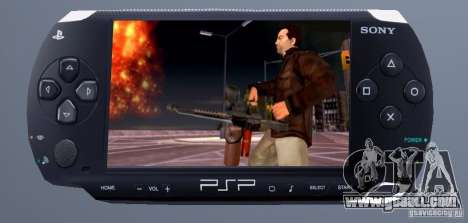 PSP Remote Explosive Pack for GTA San Andreas