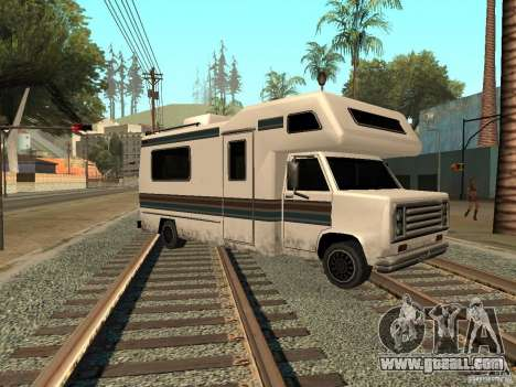 House on wheels for GTA San Andreas