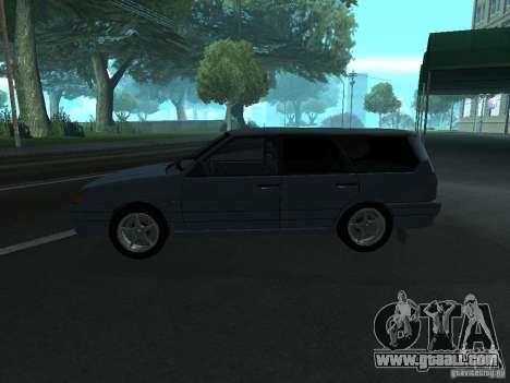 ВАЗ 2114 touring for GTA San Andreas left view