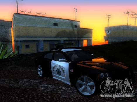Dodge Charger SRT8 Police for GTA San Andreas right view
